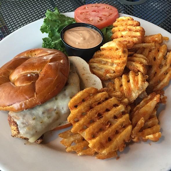 Blackened Chicken Sandwich @ King Street Grille