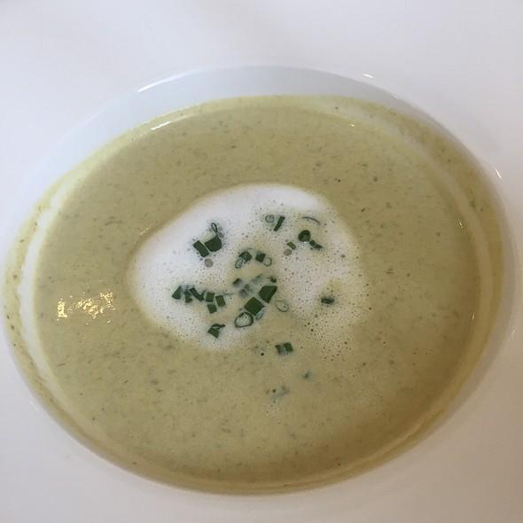Aspargus Cappuccino Soup @ Hotel Grandezza