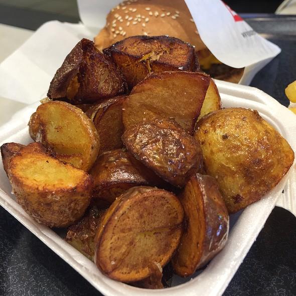 Skin Potatoes @ Burgerville