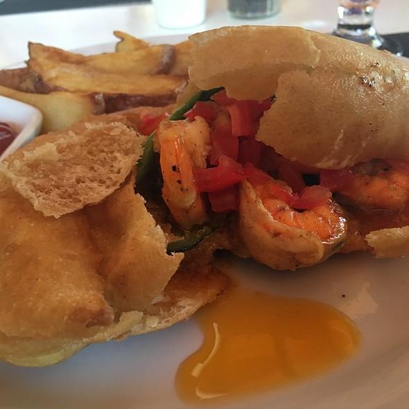 Shrimp Poboy @ Maya Beach Hotel Bistro