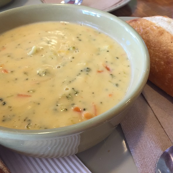 Broccoli Cheddar Soup @ Panera Bread
