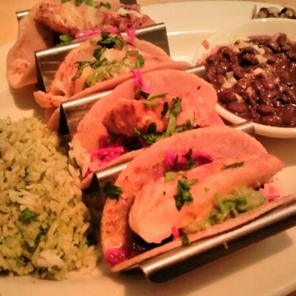 fish tacos @ The Cheesecake Factory