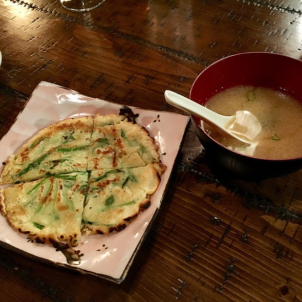 Seafood Pancake & Miso Soup