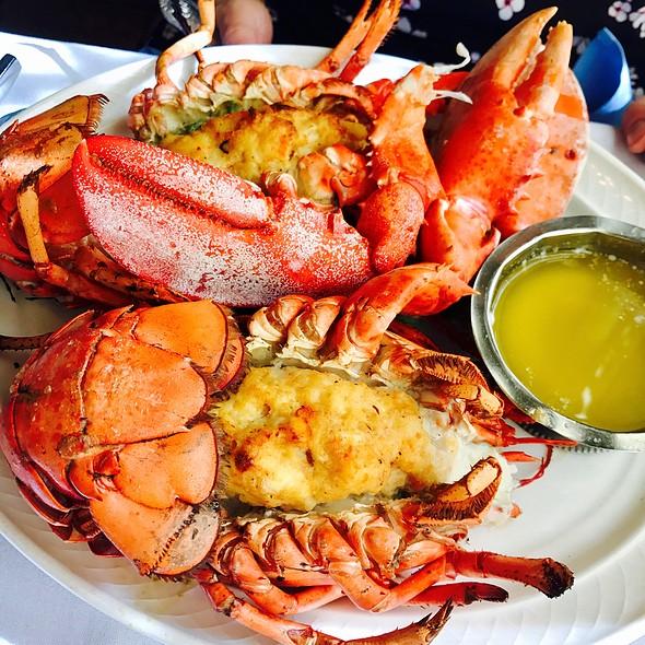 Twin Stuffed Lobsters