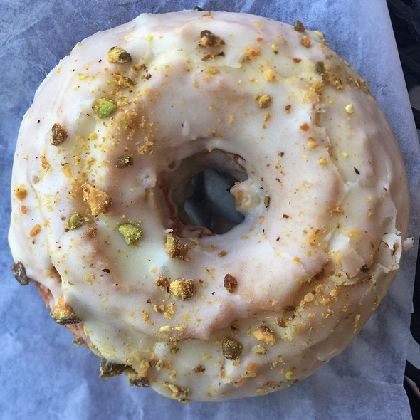Orange Pistachio Doughnut @ The Inn Bakery