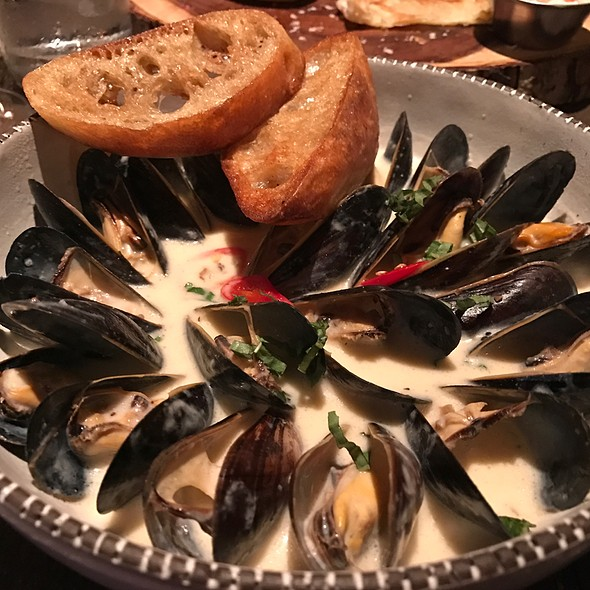 Mussels @ The Recess Room