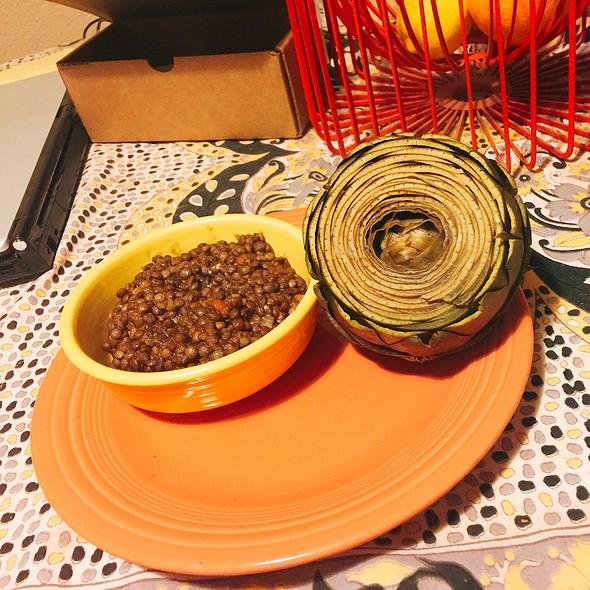 Artichoke And Lentils