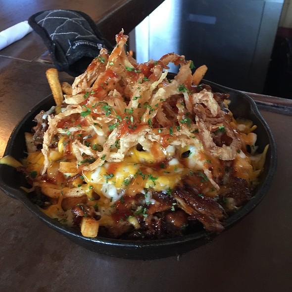 Bbq Pulled Pork Fries @ Lock & Key Social Drinkery