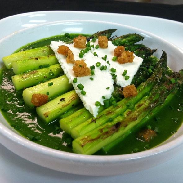 Asparagus With Ricotta Salata @ Barclay Prime