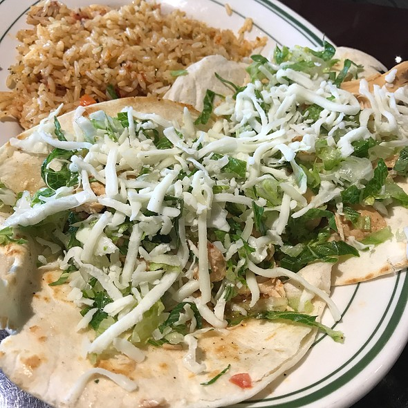 Chicken Soft Tacos @ Garcia's Mexican Restaurant