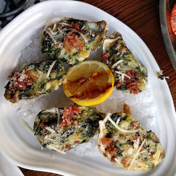 Southern Style Oysters Rockefeller
