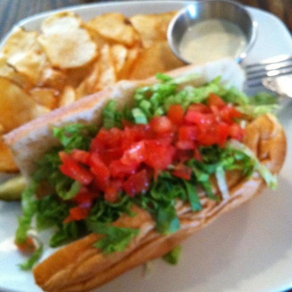 Shrimp Po' Boy Sandwich @ Jake's Good Eats