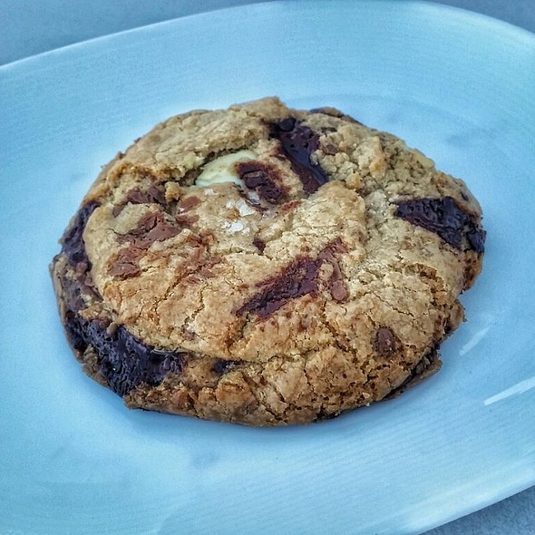 chocolate chip cookie @ Studio Cafe At The Whitney Museum