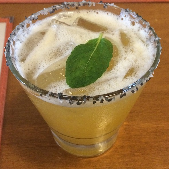 Black Tea Margarita @ Babalu Tacos & Tapas