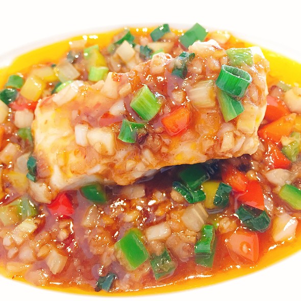 Steamed Fish With Chilli Sauce
