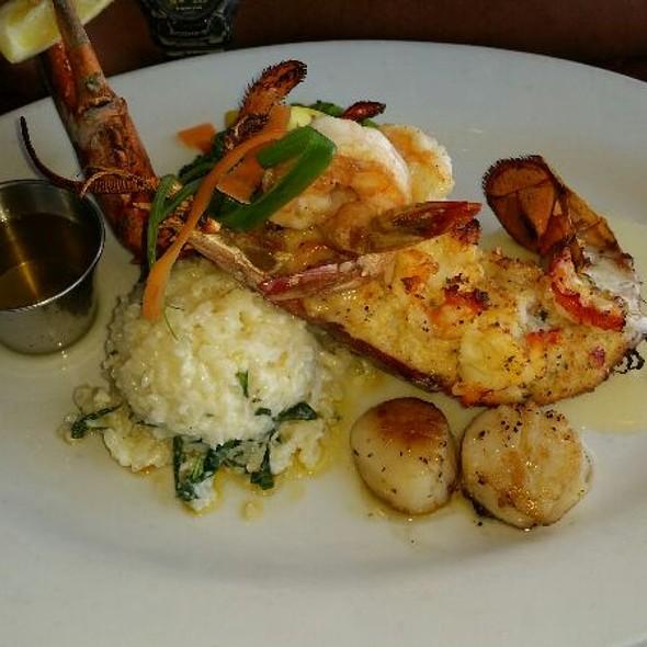 Crabmeat Stuffed Lobster