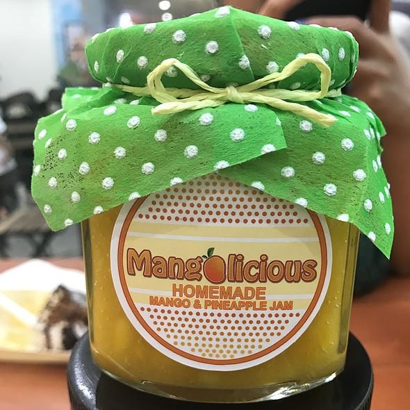 Homemade Mango & Pineapple Jam
