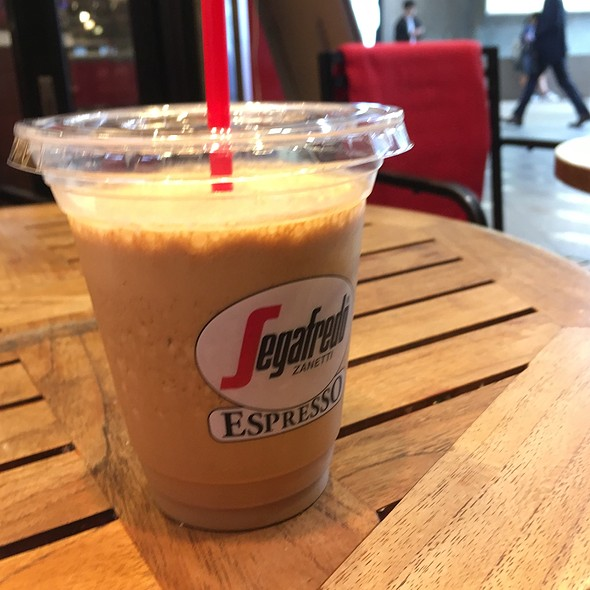 Espresso granita @ Segafredo ZANETTI espresso 泉岳寺店