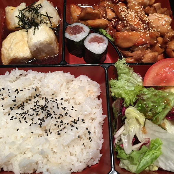 Terriyaki Chicken Bento Box