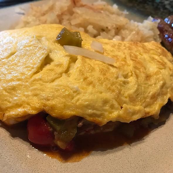 Taco Omelette @ Cramer Homestead