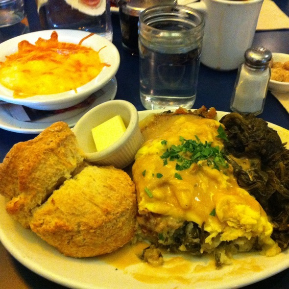 Bubble and Squeak @ Aunt Mary's Cafe