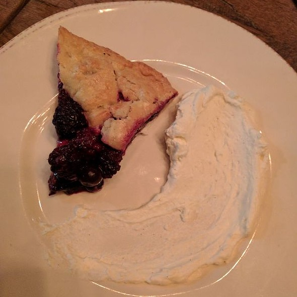 Seasonal Blackberry Galette