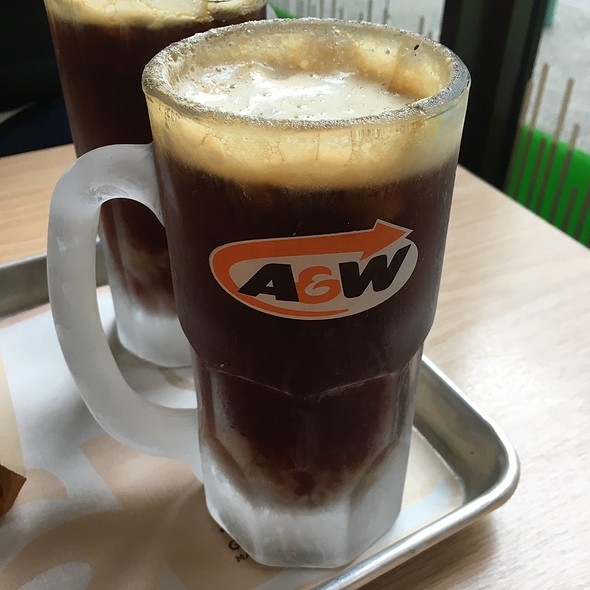 Frosty Rootbeer @ A&W