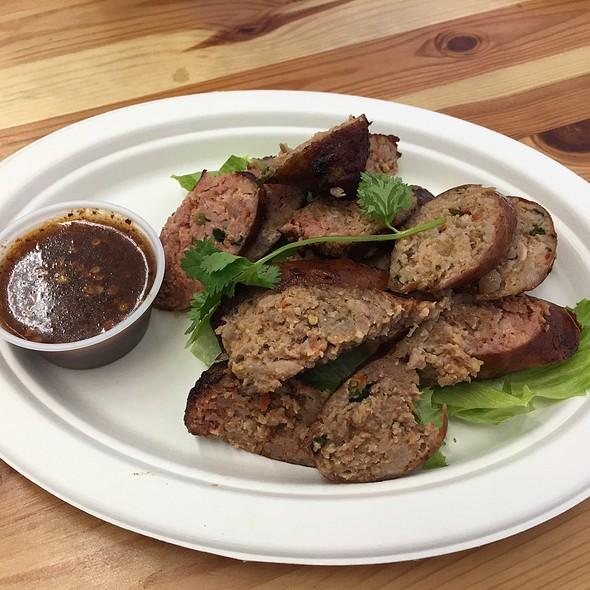 Thai Pork Sausage