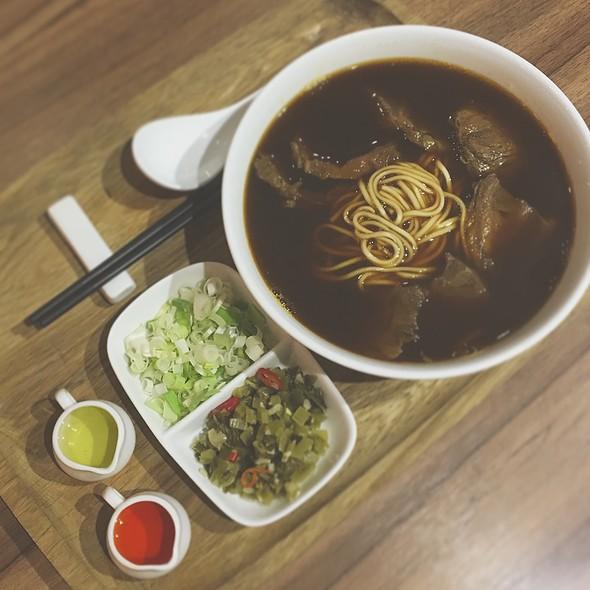 椒麻牛肉麵