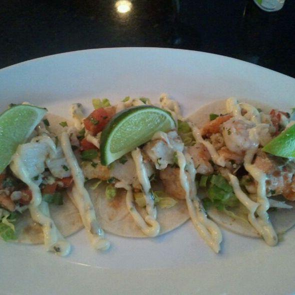 Seafood Tacos - 14K Restaurant & Lounge - The Hamilton DC, Washington, DC