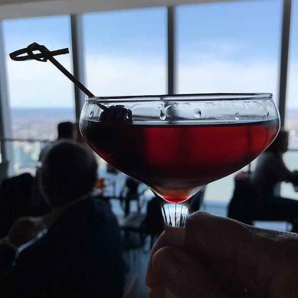Manhattan Cocktail @ One World Observatory