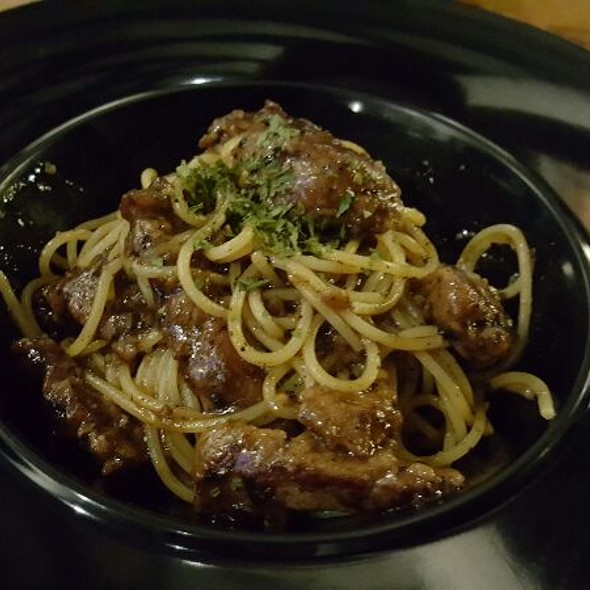 Beef & Black Pepper Sauce Pasta