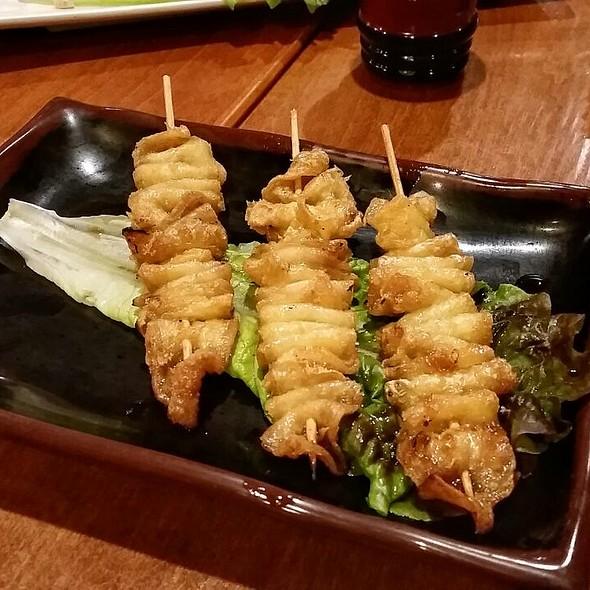 Chicken Skin @ Sake Bar Hagi