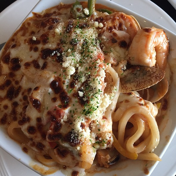 Seafood Udon @ Keeper's Japanese Restaurant