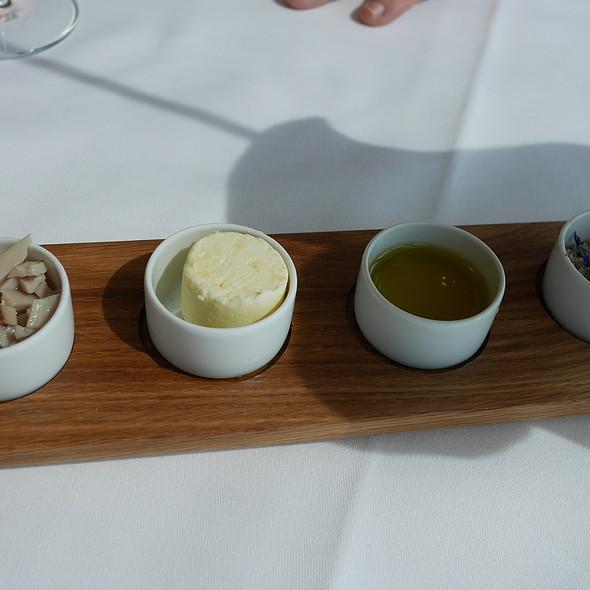 Butter, Olive Oil, Salt, Pickled Mushrooms