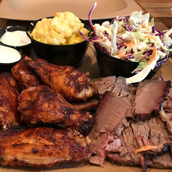 2 Meat Combo @ Sauced BBQ & Spirits