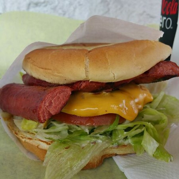 The Combo @ Marty's Hamburger Stand