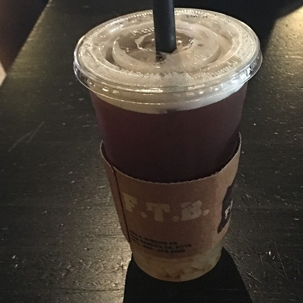 Passionfruit Black Tea With Lychee Jelly