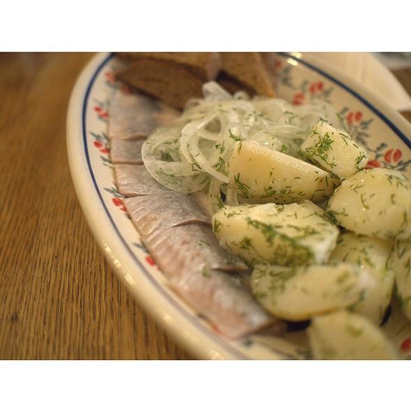 House Cured Pickled Herring @ Mari Vanna