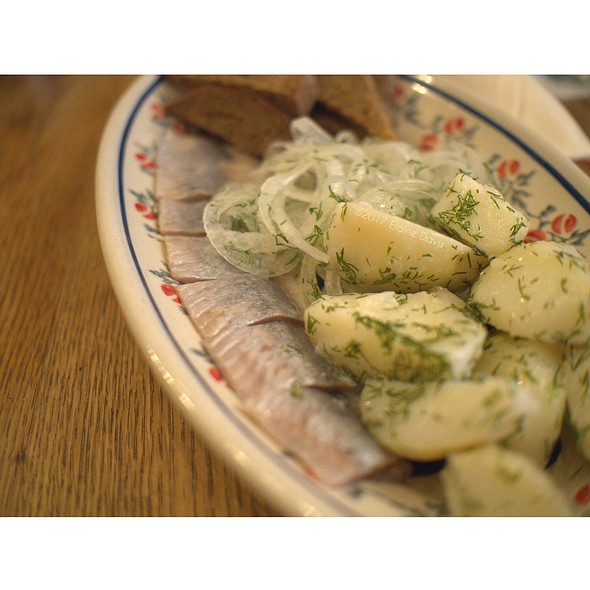 House Cured Pickled Herring @ Mari Vanna