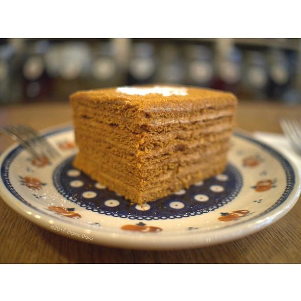 Medovik (Honey Layer Cake) @ Mari Vanna
