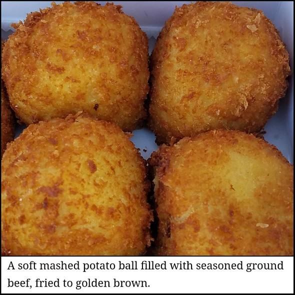 Potato Balls @ Porto's