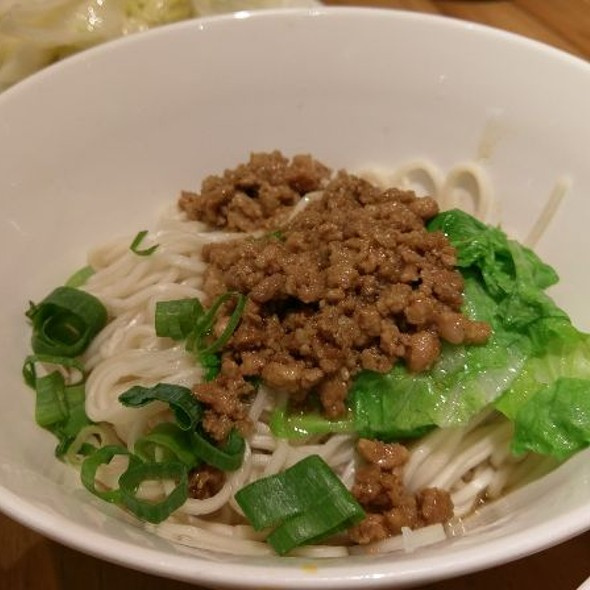 Miced Pork Noodles @ 四川吳抄手