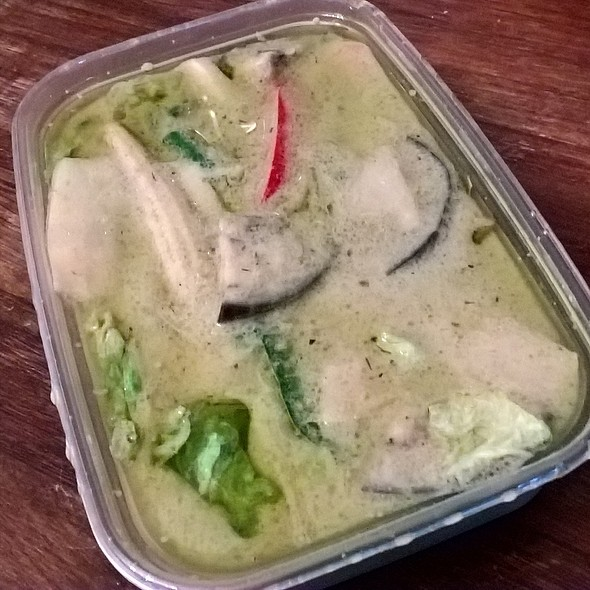 Mixed Vegetable Green Curry