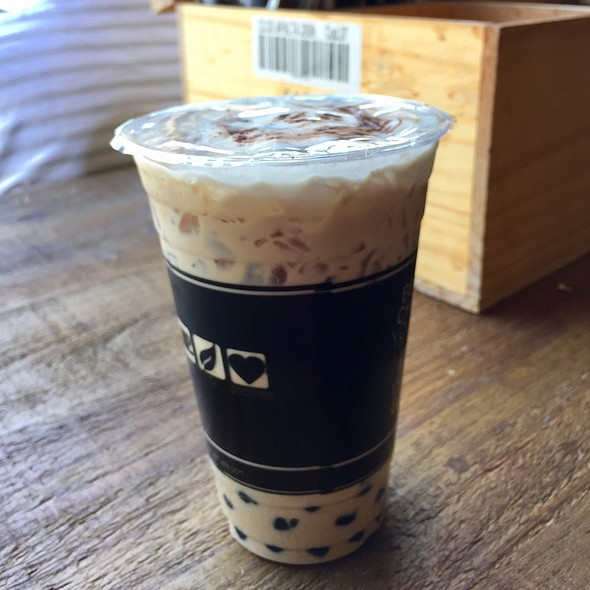 House Coffee With Boba @ 7 Leaves Cafe