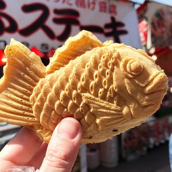 Taiyaki With Custard Filling