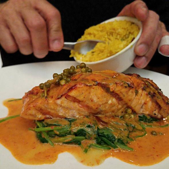 Grilled Salmon @ Thai Market
