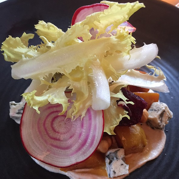 Roasted Beets, Fourme D'ambert, Endive, Hazelnut Vinaigrette
