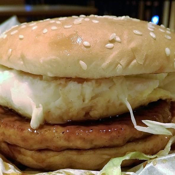 Shogun Burger with Egg 玉子將軍漢堡