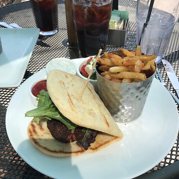 Lamb Burger @ City Cafe Inc